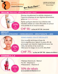Cellu M6, Meso-Dermabrasion, Vitamine ACE